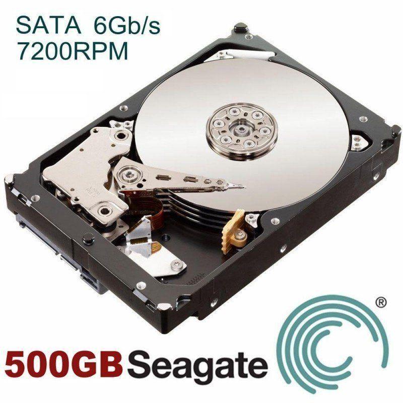 HD Sata Seagate 500GB Recon  - CFTV Clube | Brasil