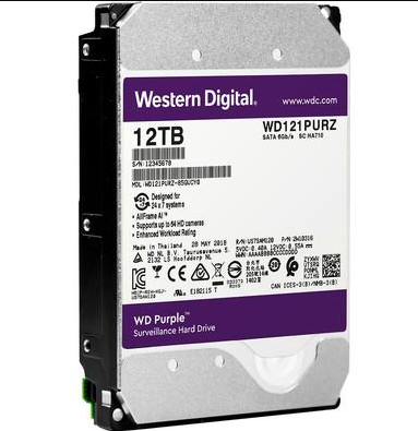 HD Sata Western Digital (WD) Purple 12TB - Sugerido pela Intelbras  - CFTV Clube   Brasil