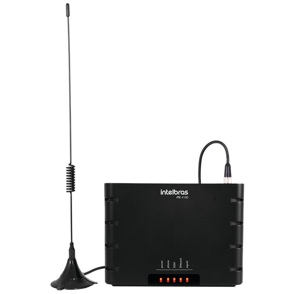 Interface Celular Intelbras GSM ITC4100 Quad Band  - CFTV Clube | Brasil
