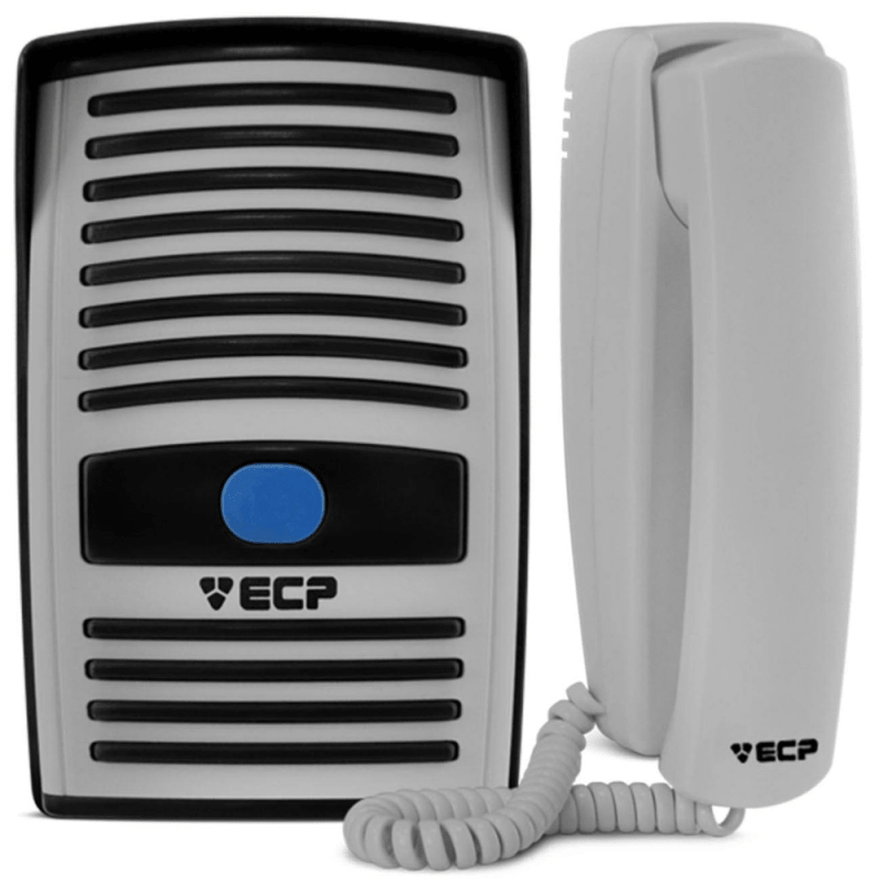 Interfone Porteiro Eletrônico Intervox ECP  - CFTV Clube | Brasil