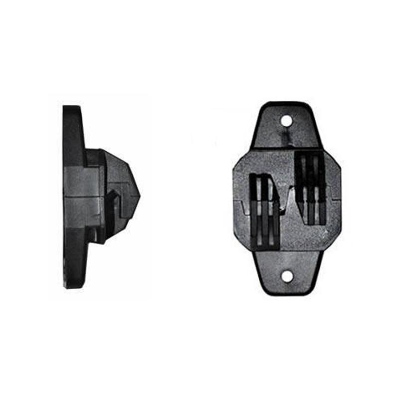 Isolador tipo W para Cerca Elétrica Industrial  - CFTV Clube | Brasil