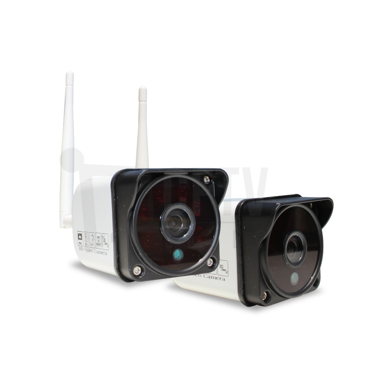 Kit 4 Câmeras Sem Fio Wifi - Acesso Em Nuvem Por Celular E computador  - CFTV Clube | Brasil