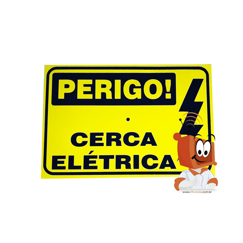 Kit Cerca Elétrica Completo para 20 Metros com Quantidade Recomendada de Hastes  - CFTV Clube | Brasil