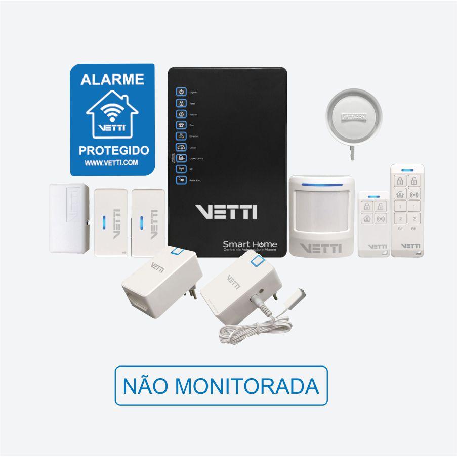 Kit Completo de Automação Residencial Smart Home Vetti  - CFTV Clube | Brasil
