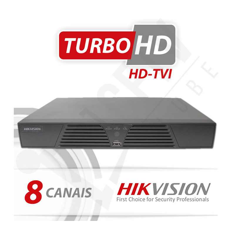 Kit Turbo Hd Hikvision Alta definição 8 Canais - Recomendado!  - CFTV Clube | Brasil