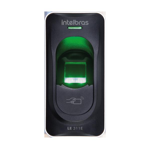 Leitor Biométrico Intelbras c/ RFID LE 331E  - CFTV Clube | Brasil