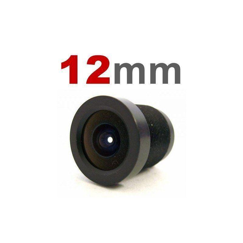 Lente 12mm para Câmeras Infra e Mini Câmeras  - CFTV Clube | Brasil
