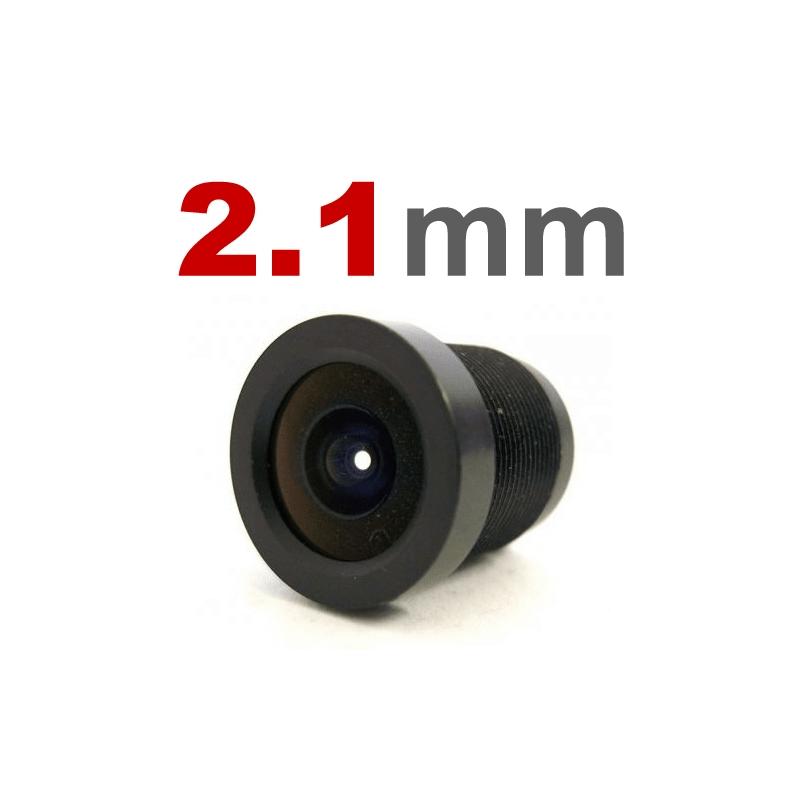 Lente 2,1mm para Câmeras Infra e Mini Câmeras  - CFTV Clube | Brasil