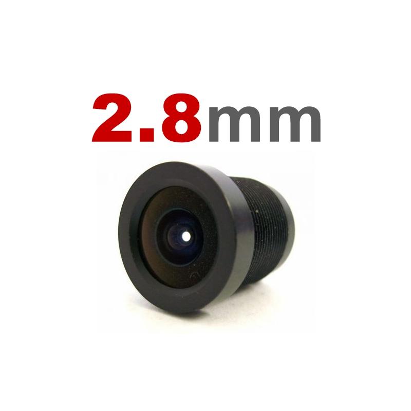 Lente 2,8mm para Câmeras Infra e Mini Câmeras  - CFTV Clube | Brasil