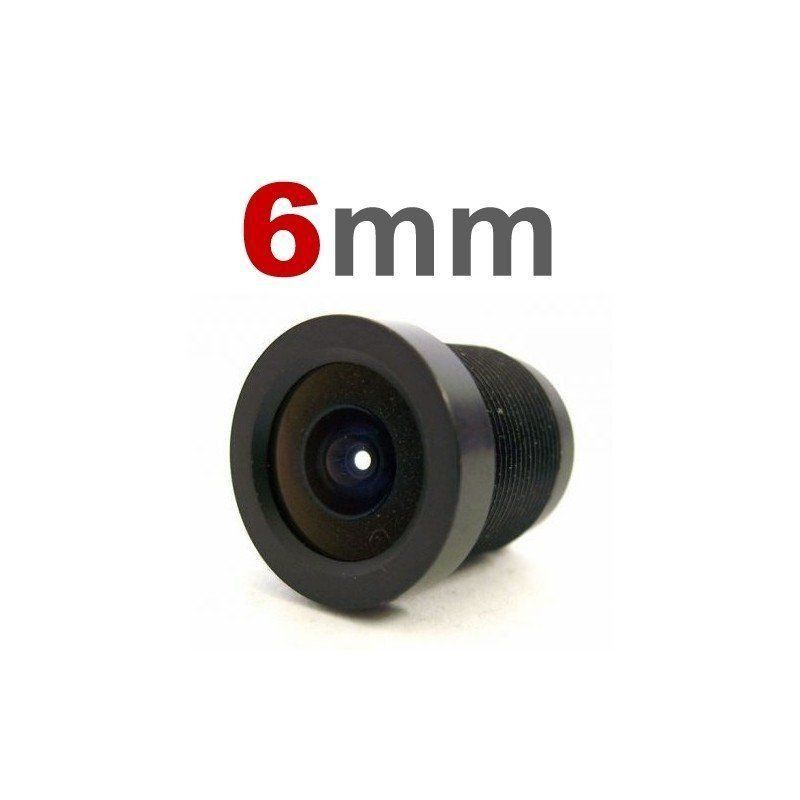 Lente 6mm para Câmeras Infra e Mini Câmeras  - CFTV Clube | Brasil