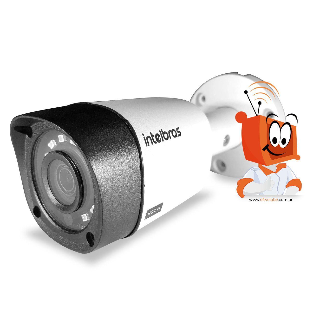 Mega Kit Essencial Intelbras Completo Alta definição 8 Câmeras - Resolução Máxima  - CFTV Clube   Brasil
