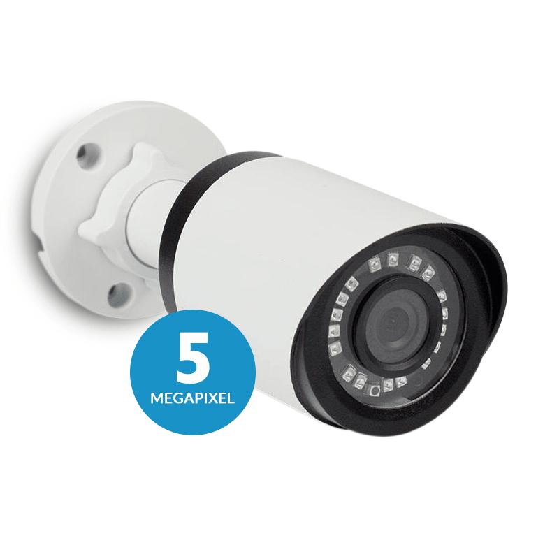 Mês de Aniversário - Câmera Tecvoz Bullet Flex HD QCB-536 Hyper HD (5.0MP   2048p   3.6mm   Metal)  - CFTV Clube   Brasil