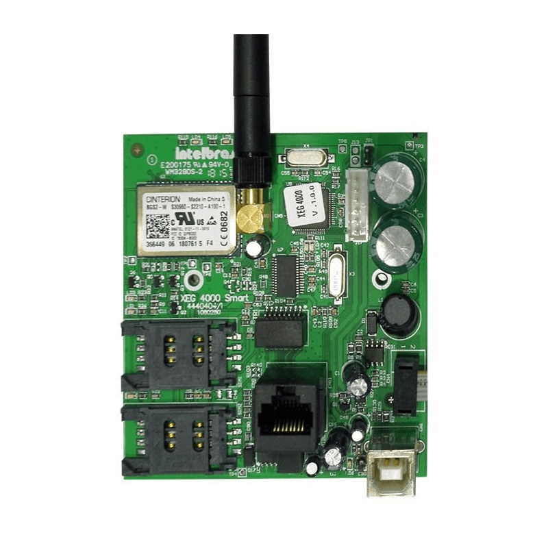 Modulo Ethernet e GPRS Intelbras XEG 4000 Smart