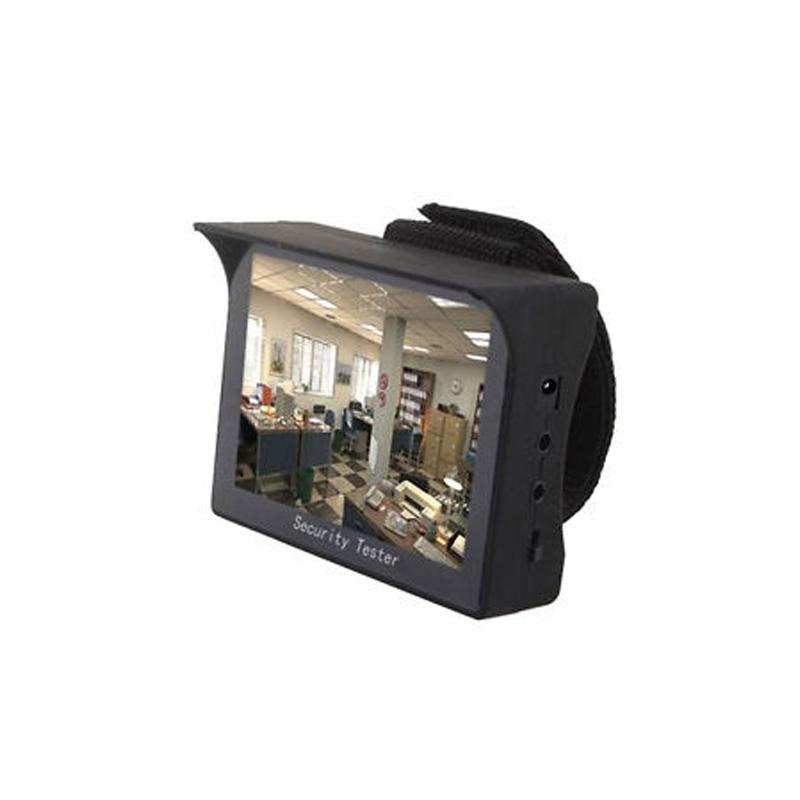 Monitor de Teste CFTV Portátil  - CFTV Clube | Brasil