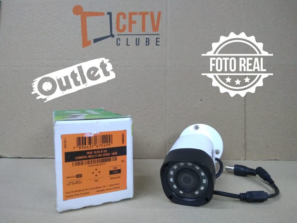 Outlet - Câmera Intelbras Bullet HD VHD 1010 B Multi HD G3 (1.0MP   720p   3.6mm   Plast)  - CFTV Clube   Brasil