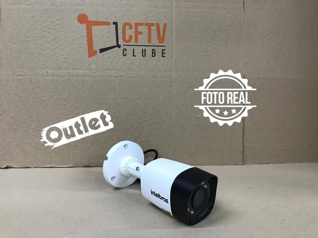Outlet - Câmera Intelbras Bullet HD VHD 1120 B Multi HD G4 (1.0MP   720p   2.6mm   Plast)  - CFTV Clube   Brasil