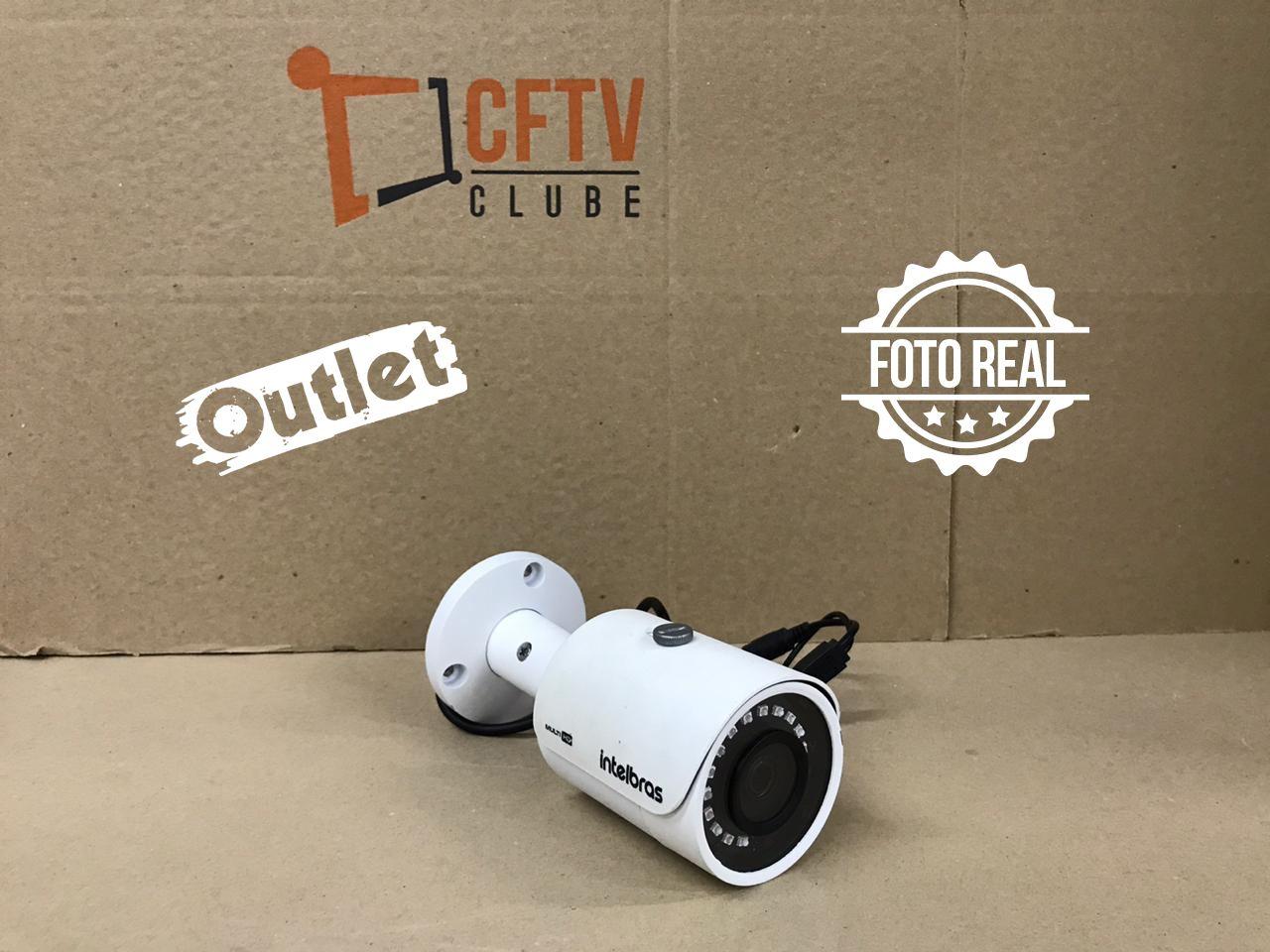Outlet - Câmera Intelbras Bullet HD VHD 3120 B Multi HD (1.0MP | 720p | 2.8mm | Metal)  - CFTV Clube | Brasil