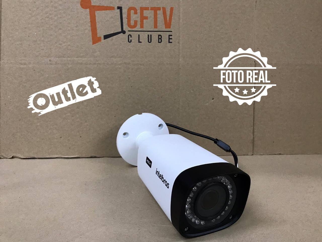 Outlet - Câmera Intelbras Bullet VHD 5250 Z Full HD (2.0MP | 1080p | 2,7mm - 12mm | Metal)  - CFTV Clube | Brasil