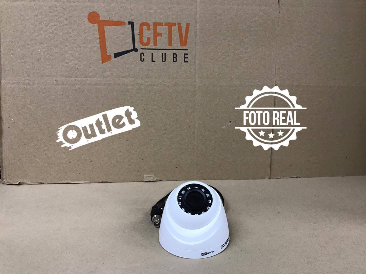 Outlet - Câmera Intelbras Dome Multi HD 1120 D (1.0MP | 720p | Plast)  - CFTV Clube | Brasil