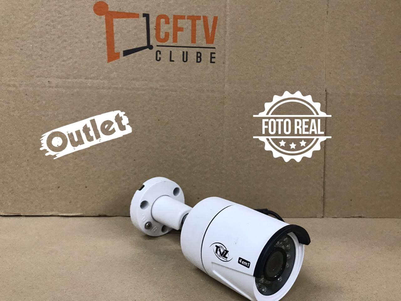 Outlet - Câmera TVZ Bullet Flex HD 4BL2 Full HD (2.0MP | 1080p | 3.6mm | Plast)  - CFTV Clube | Brasil