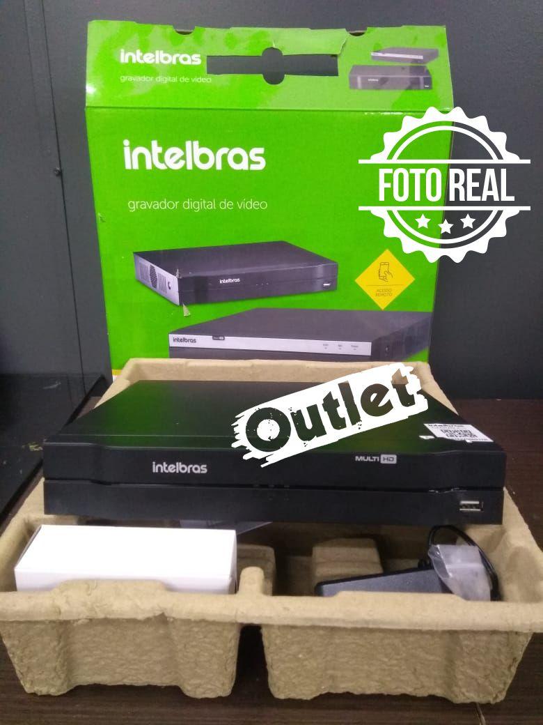Outlet - DVR Intelbras 16 Canais Multi HD Alta Resolução MHDX 1016  - CFTV Clube | Brasil