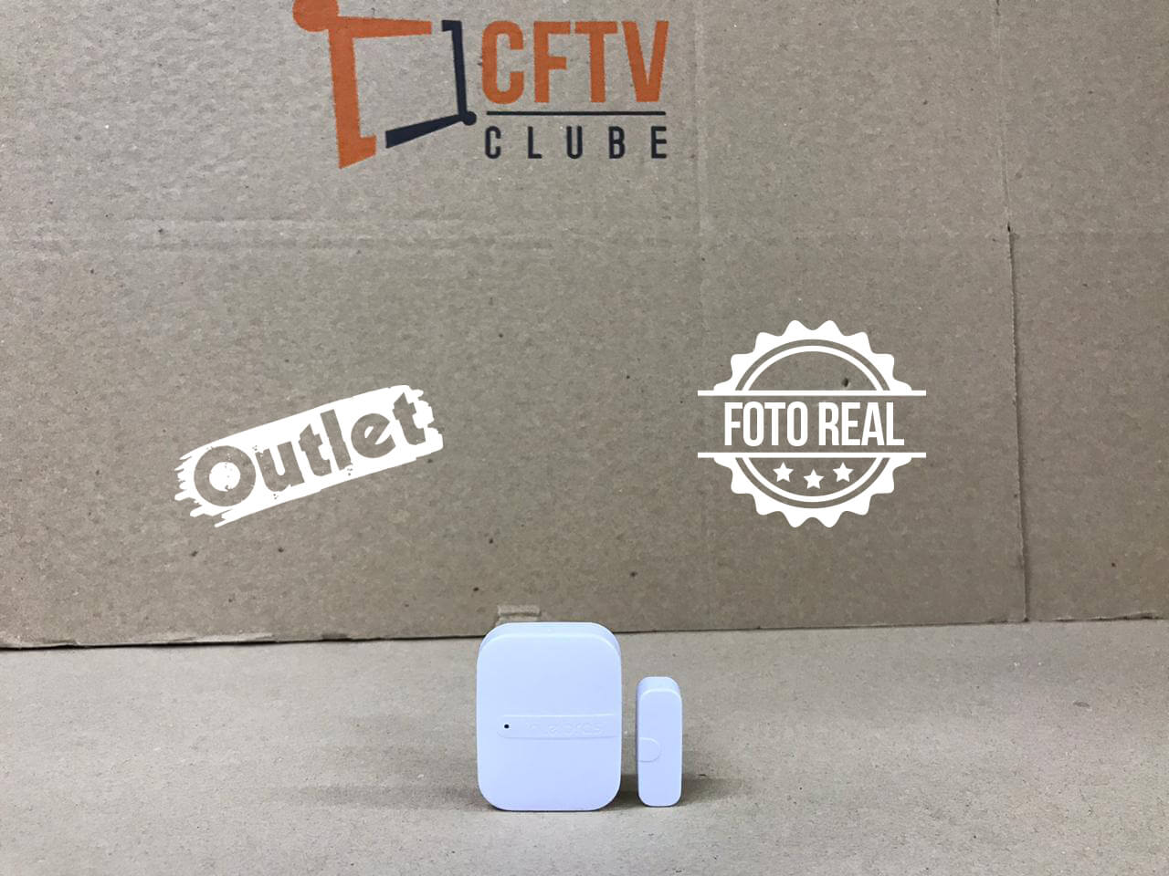 Outlet - Sensor de Abertura Magnético Sem Fio XAS 4010 Smart - Intelbras  - CFTV Clube | Brasil