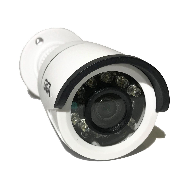 PÁSCOA CFTV CLUBE - Câmera Giga GS0014 Bullet Open HD Plus IR 20M UTC DWDR (1.0MP | 720p | 2.6mm | Plast)  - CFTV Clube | Brasil