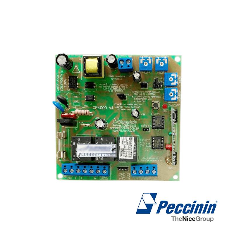 Placa Central CP 4000 para Motor Peccinin  - CFTV Clube | Brasil