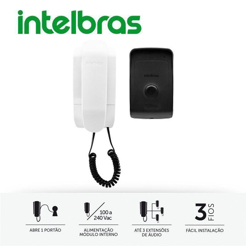 Interfone Porteiro Intelbras Residencial IPR 1010  - CFTV Clube | Brasil