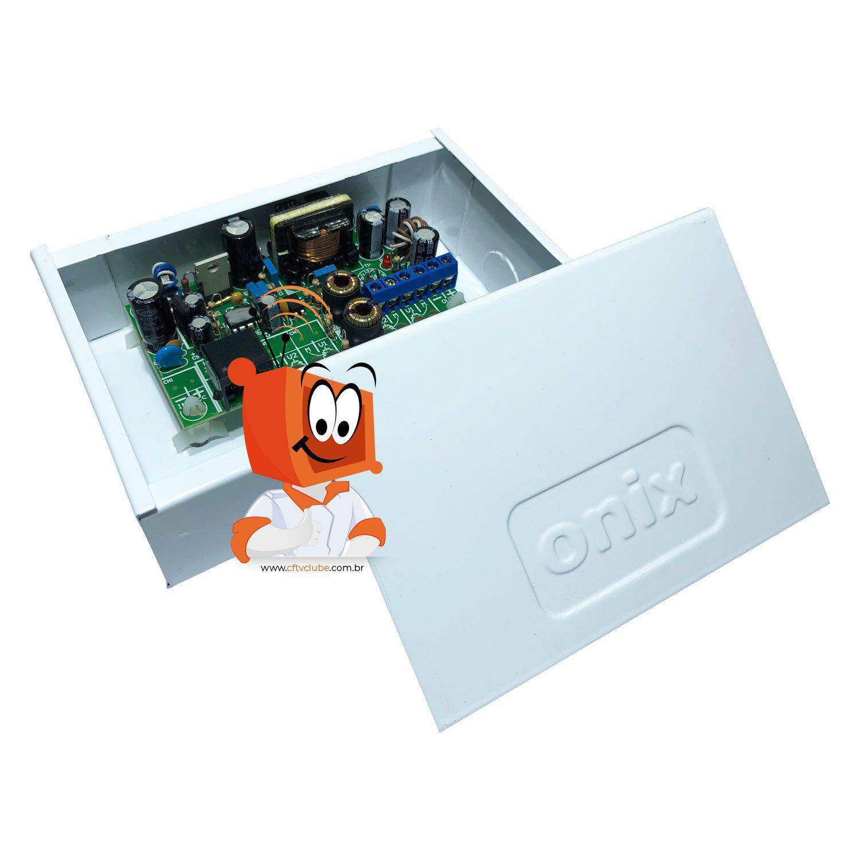 Rack Organizador Power Coaxial HD 3000 Onix 4 Canais  - CFTV Clube | Brasil