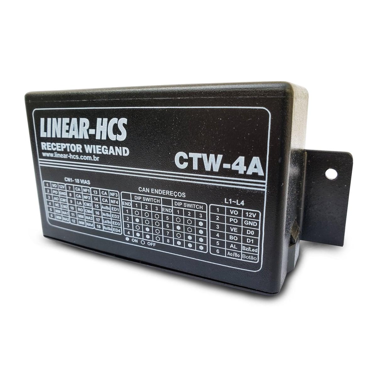 Receptor Linear-HCS CTW-4A  - CFTV Clube | Brasil