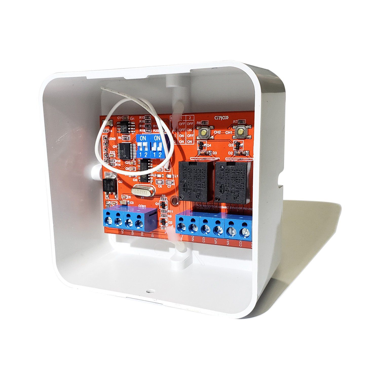 Receptor de Controle Remoto 433 MHz - CX-7314 Citrox  - CFTV Clube | Brasil