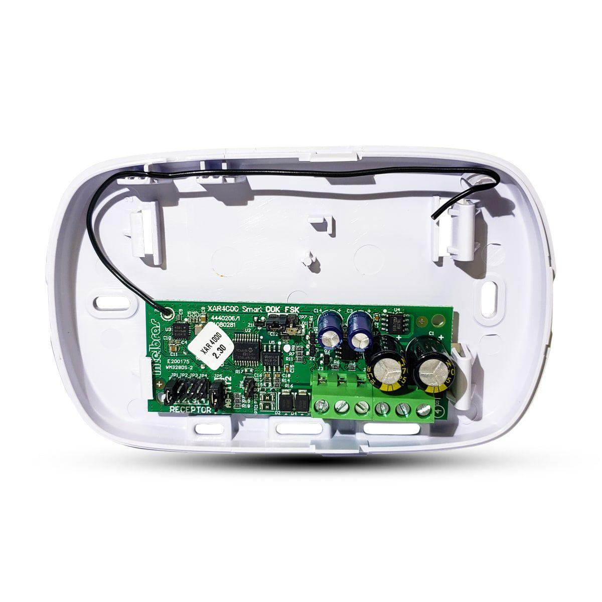 Receptor Intelbras para Centrais de Alarme Intelbras AMT - XAR 4000 Smart  - CFTV Clube | Brasil