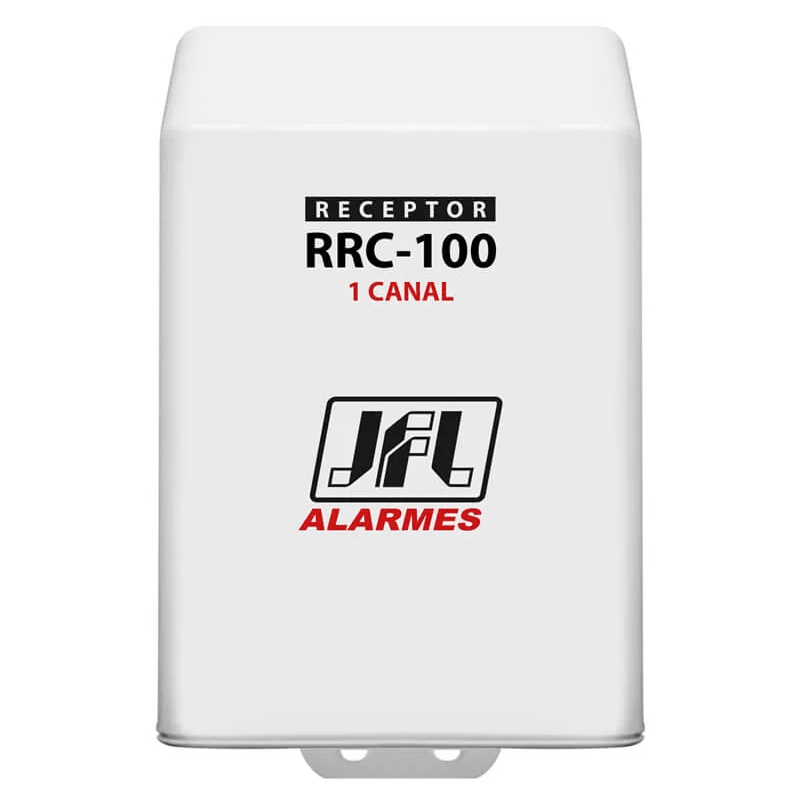 Receptor JFL para Controles e Sensores 433Mhz com 1 Canal - AC 100  - CFTV Clube | Brasil