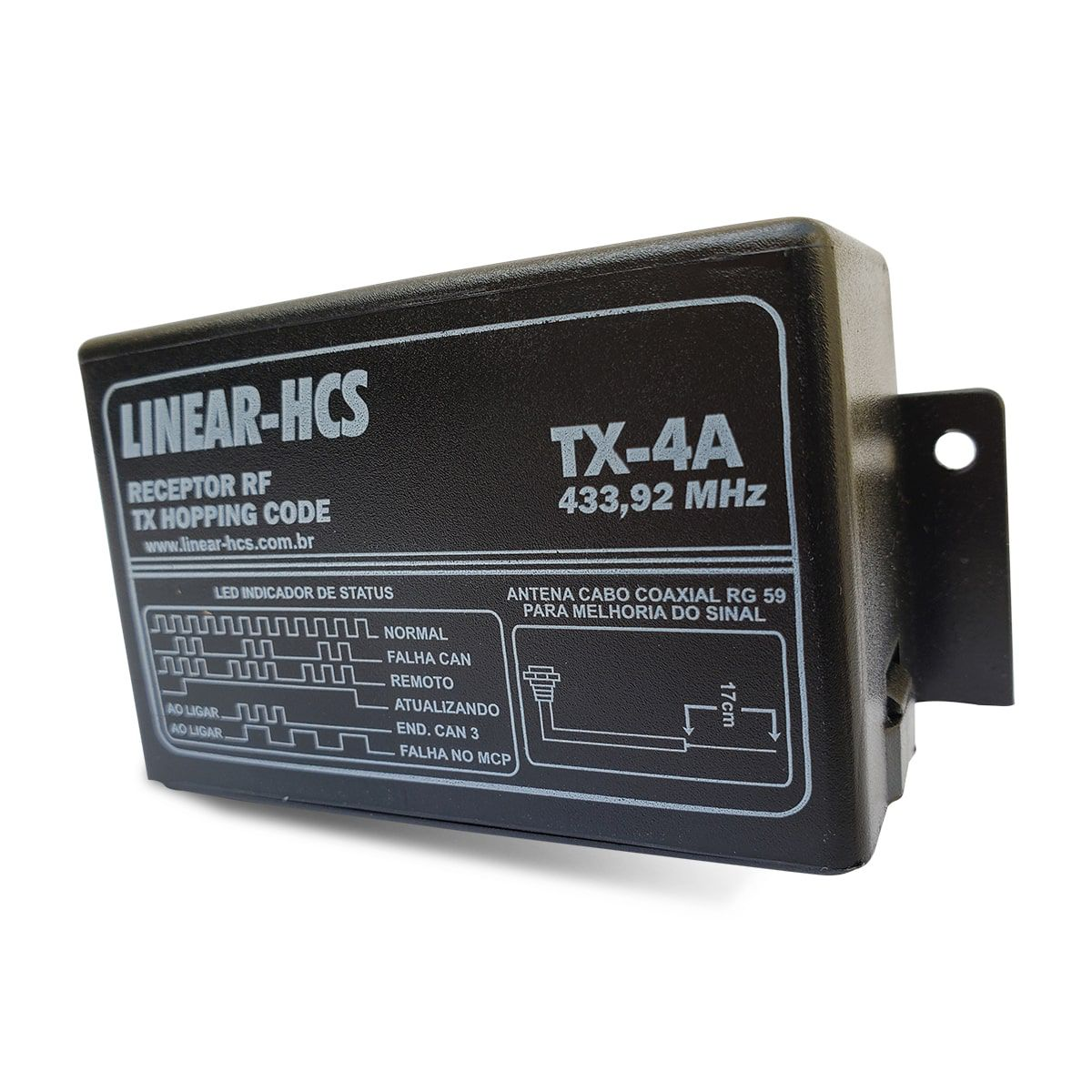 Receptor Linear-HCS TX-4A  - CFTV Clube | Brasil