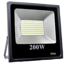Refletor de LED 200w Externo IP66  - CFTV Clube   Brasil