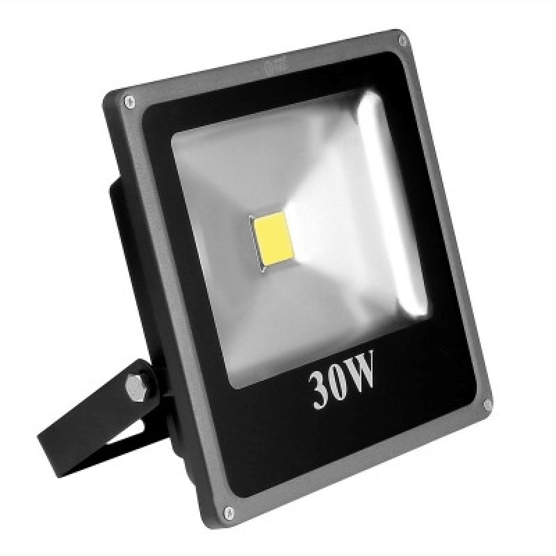 Refletor de LED 30w Externo IP66  - CFTV Clube | Brasil