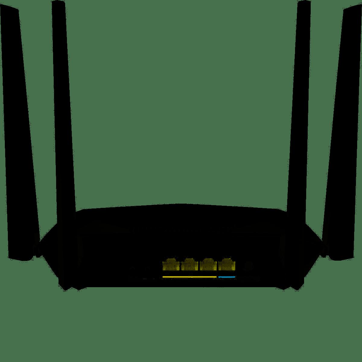 Roteador Intelbras RG 1200 Gigabit Action  - CFTV Clube   Brasil