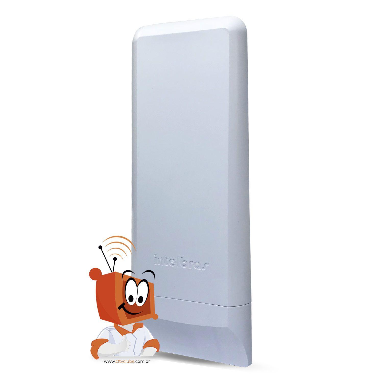 Roteador Intelbras Wireless Wom 5000I 12dbi CPE 5GHZ   - CFTV Clube | Brasil