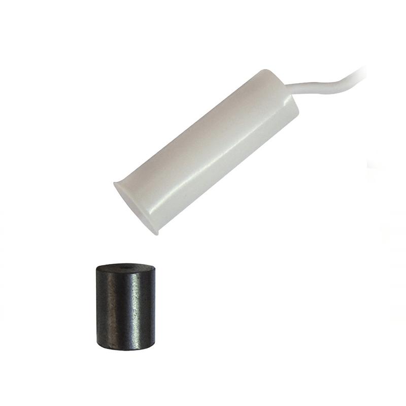 Sensor de Abertura Magnético de Embutir para Portas e Janelas