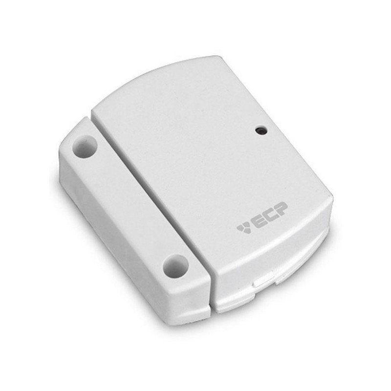 Sensor de Abertura Magnético Sem Fio Intruder - ECP  - CFTV Clube | Brasil