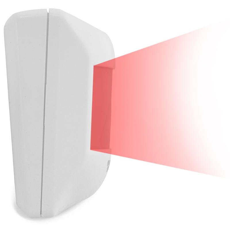 Sensor Infravermelho Passivo IVP com Fio ECP - Visory  - CFTV Clube | Brasil
