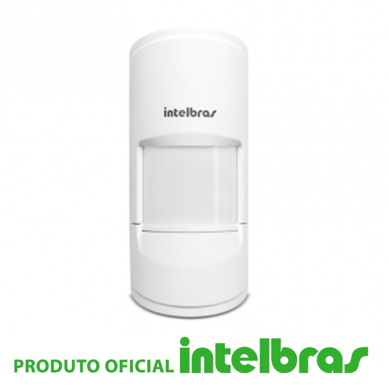 Sensor Infravermelho Passivo IVP com Fio Intelbras - 5001 Pet  - CFTV Clube | Brasil