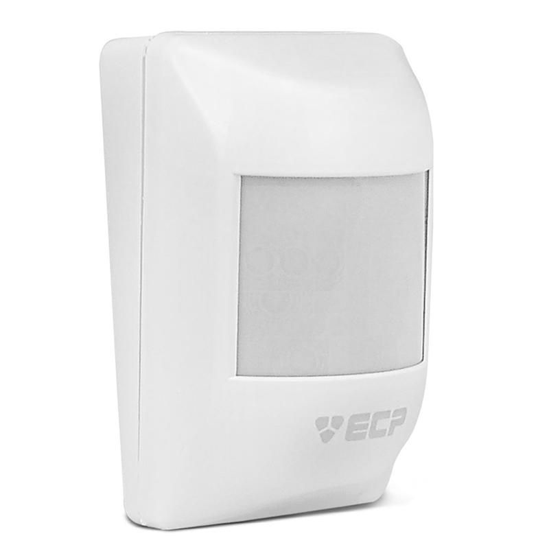 Sensor Infravermelho Passivo IVP sem Fio ECP - Visory Saw  - CFTV Clube | Brasil