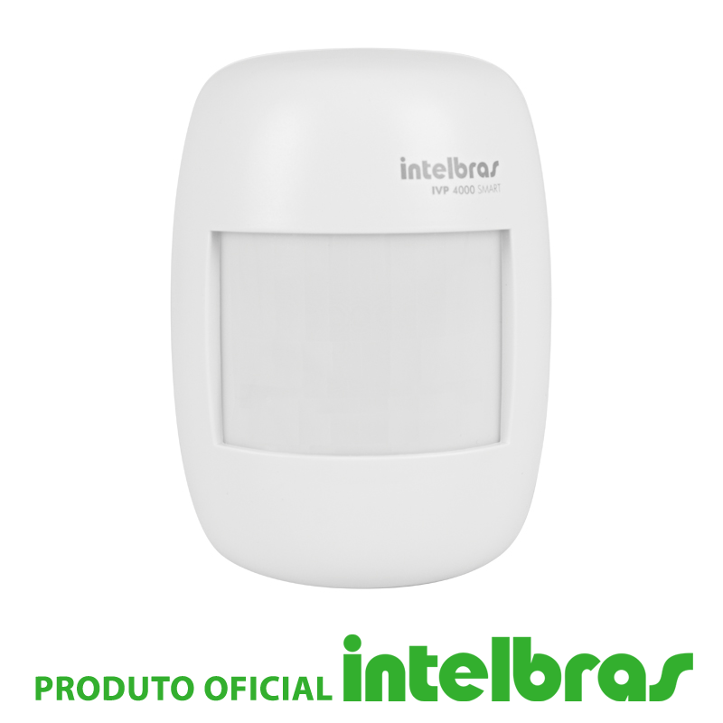 Sensor Infravermelho Passivo IVP sem Fio Intelbras - 4000 Smart  - CFTV Clube | Brasil