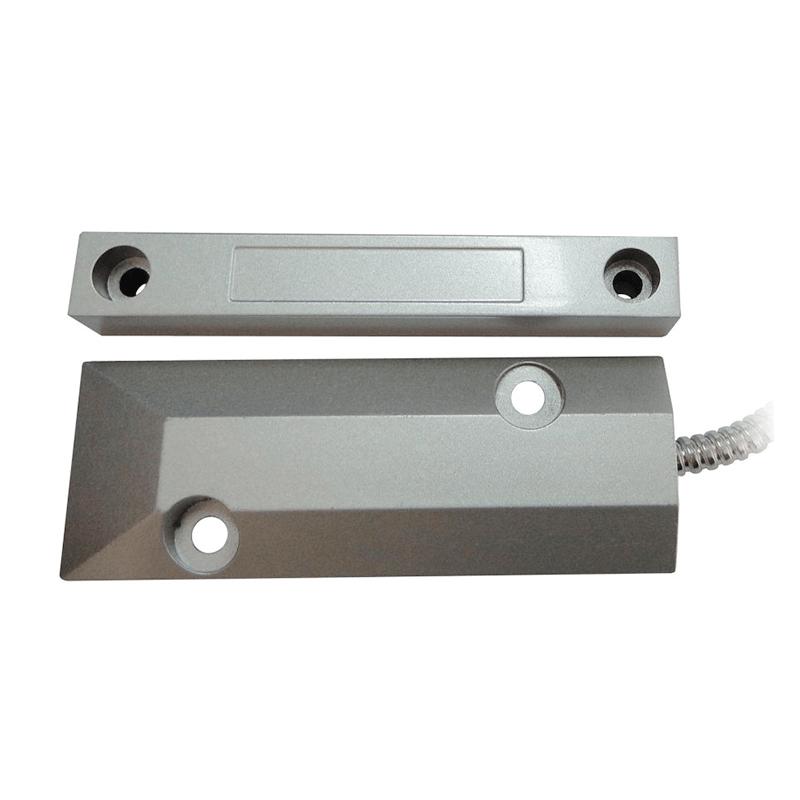 Sensor de Abertura Magnético de Piso - Security Parts  - CFTV Clube | Brasil