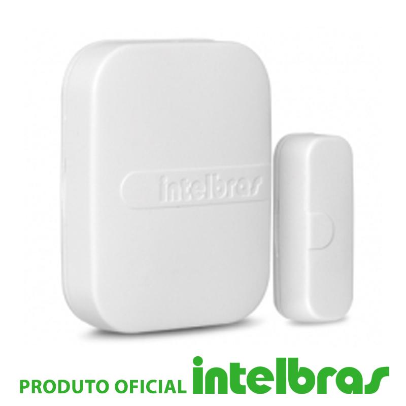 Sensor de Abertura Magnético Sem Fio XAS 4010 Smart - Intelbras  - CFTV Clube | Brasil