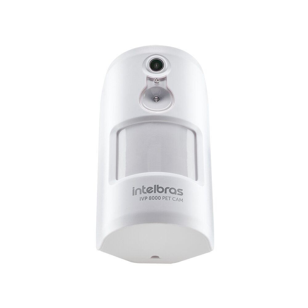 Sensor Passivo Sem Fio Intelbras IVP 8000 Pet CAM  - CFTV Clube | Brasil