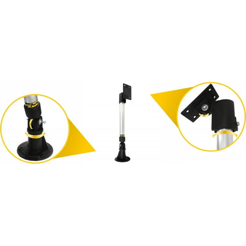 Suporte Articulado Security Parts para Câmera de Segurança e Monitoramento - 40cm  - CFTV Clube | Brasil