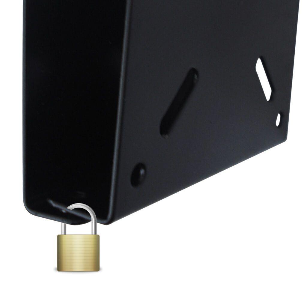 Suporte para TV inclinável Brasforma - SBRP110 (LED, LCD, Plasma, 3D, Smart de 10 a 55 Polegadas)  - CFTV Clube | Brasil